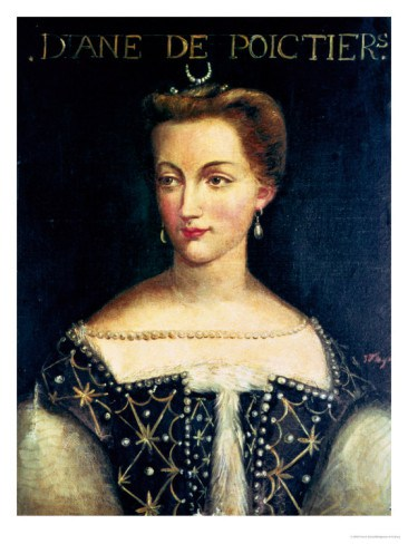 Diane de poitiers mistress of henri ii king of france