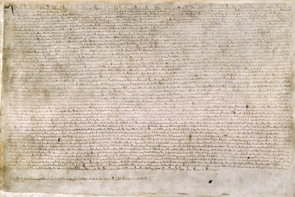 Magna Carta British Library Cotton MS Augustus II 106