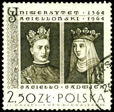 stamp-king-jagiello-jadwiga-14196907
